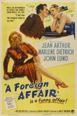 фильм Зарубежный роман Foreign Affair, A 1948