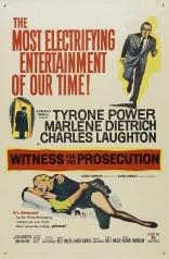 фильм Свидетель обвинения Witness for the Prosecution 1957