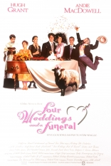 ����� ������ ������� � ���� �������� Four Weddings and a Funeral 1994