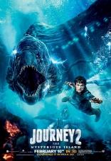 Путешествие 2: Таинственный остров плакаты
