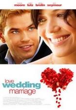 Сначала любовь, потом свадьба плакаты