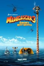 Мадагаскар 3 в 3D плакаты