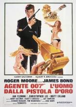 Человек с золотым пистолетом плакаты