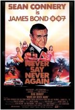 Никогда не говори «никогда» плакаты