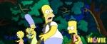 кадр №12570 из фильма Симпсоны в кино