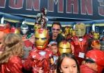«Железный человек 3» на Comic-Con 2012 кадры
