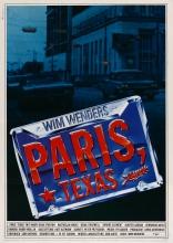 Париж, Техас плакаты