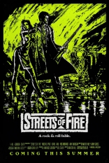Улицы в огне плакаты