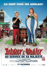 Астерикс и Обеликс в Британии плакаты