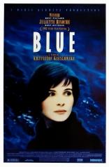 Три цвета: Синий плакаты