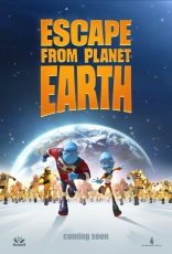 Побег с планеты Земля плакаты