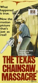 Техасская резня бензопилой плакаты