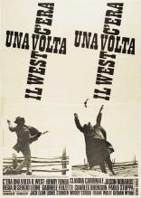 Однажды на Диком Западе плакаты