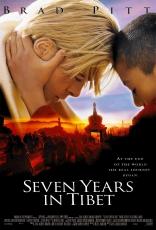 Семь лет в Тибете плакаты
