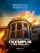 Падение Олимпа плакаты