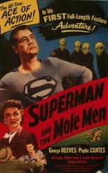 Супермен и люди-кроты плакаты