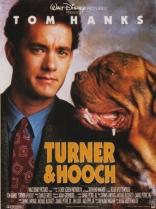 Тернер и Хуч плакаты