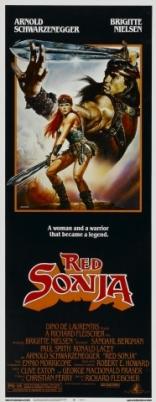 Рыжая Соня плакаты