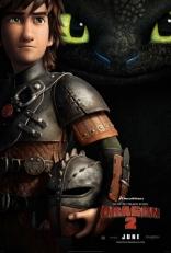 Как приручить дракона 2 плакаты