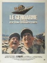 Жандарм и инопланетяне плакаты