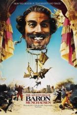 Приключения барона Мюнхаузена плакаты