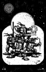 Черепашки-ниндзя плакаты
