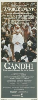 Ганди плакаты