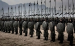 Императрица и воины кадры