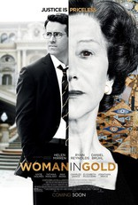 Женщина в золотом* плакаты