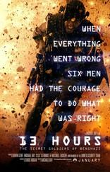 13 часов: Тайные солдаты Бенгази плакаты