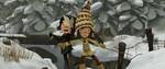 Снежная битва 3D кадры