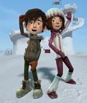 кадр №218704 из фильма Снежная битва 3D