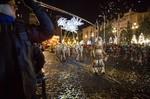 Рождественская ночь в Барселоне кадры