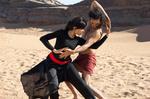 Танцующий в пустыне кадры