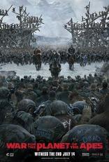Планета Обезьян: Война плакаты