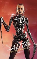 Алита: Боевой ангел плакаты