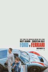 Ford против Ferrari плакаты