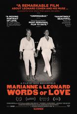 Марианна и Леонард: Слова любви плакаты