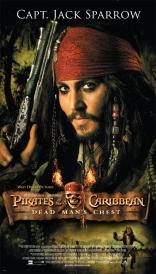 Пираты Карибского моря: Сундук мертвеца плакаты