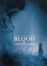 Кровь и шоколад плакаты