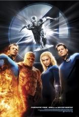 Фантастическая четверка: Вторжение Серебряного Серфера плакаты