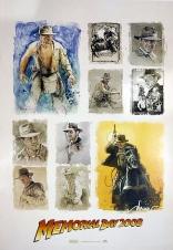 Индиана Джонс и Королевство Хрустального Черепа плакаты