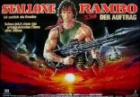 Рэмбо: Первая кровь, часть II плакаты
