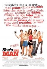 Она — мужчина плакаты