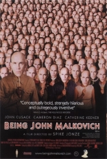Быть Джоном Малковичем плакаты