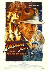 Индиана Джонс и Храм судьбы плакаты