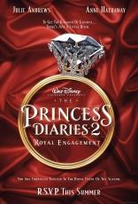 Дневники принцессы 2: Как стать королевой плакаты
