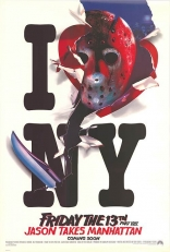 Пятница, 13-ое, часть VIII: Джейсон штурмует Манхэттен плакаты