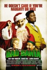 Плохой Санта плакаты