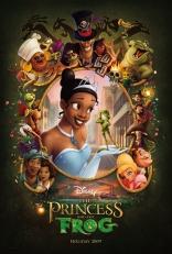 Принцесса и лягушка плакаты